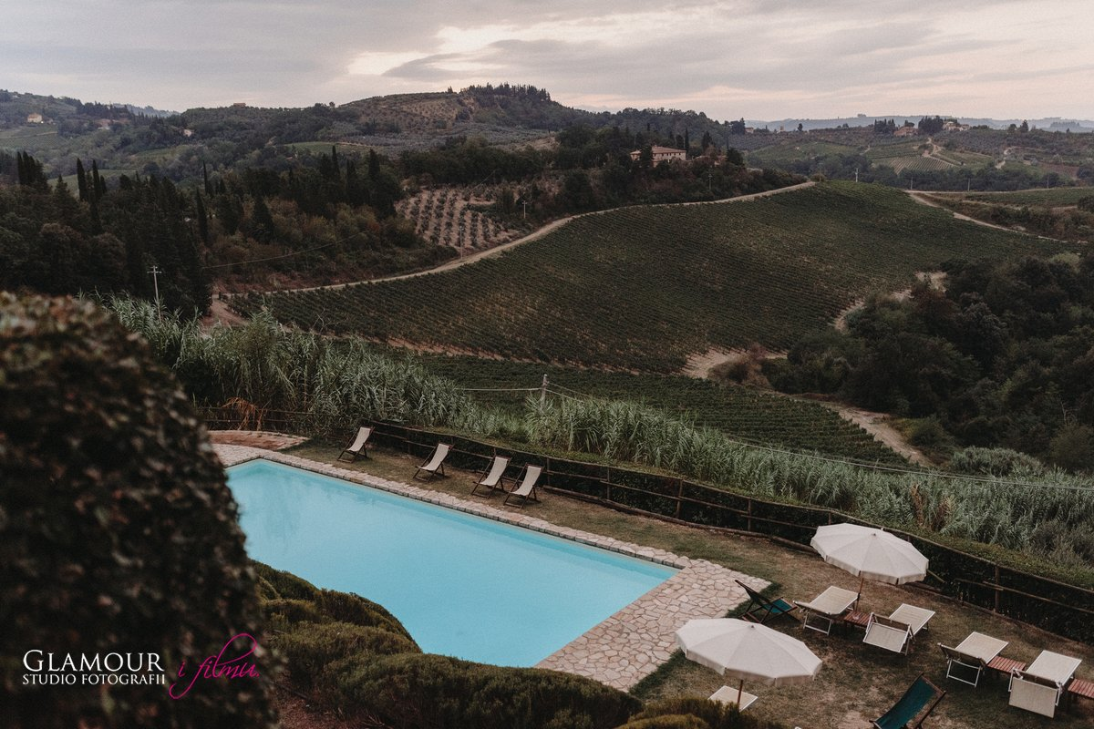 Toskania krajobraz