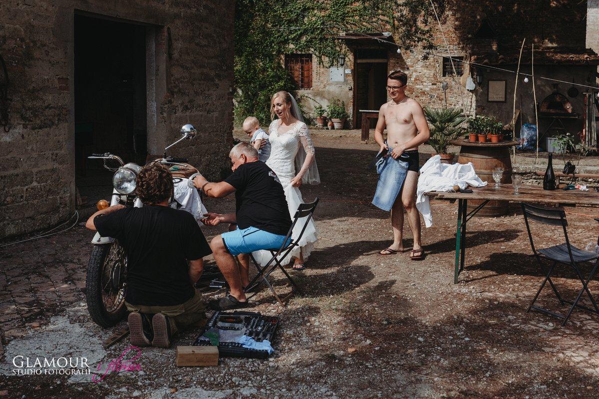Zdjęcia ślubne Włochy