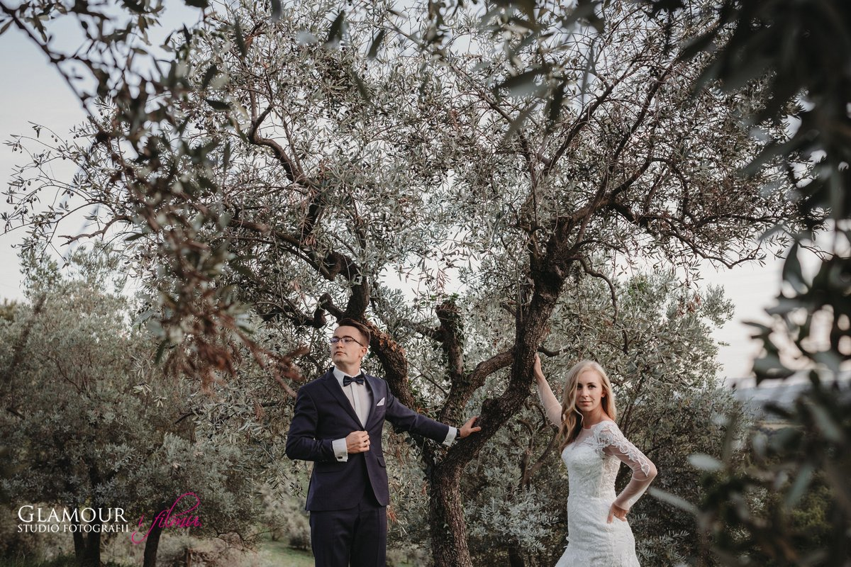 Sesja ślubna w Toskanii | Sandra i Mateusz