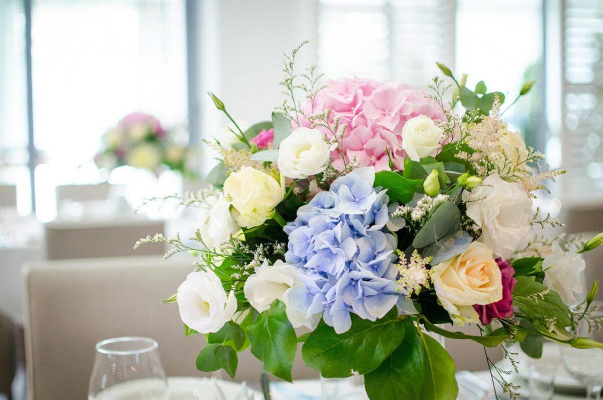 kolorowe dekoracje ślubne